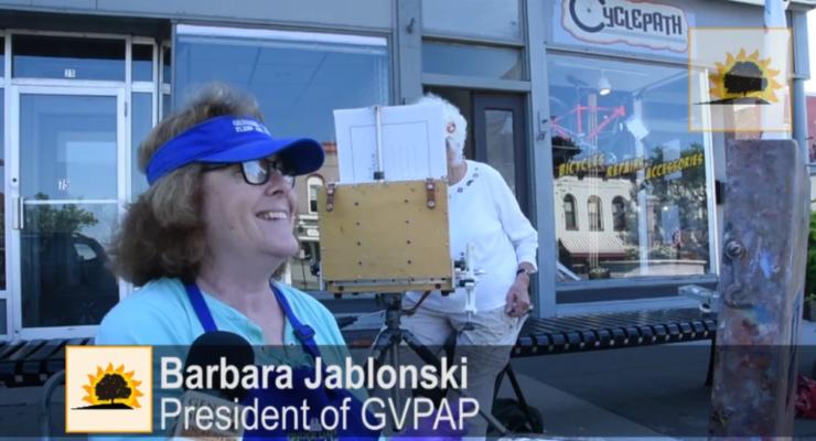 SUN VIDEO: Valley Artists Rejoice at Bear Fountain's Return