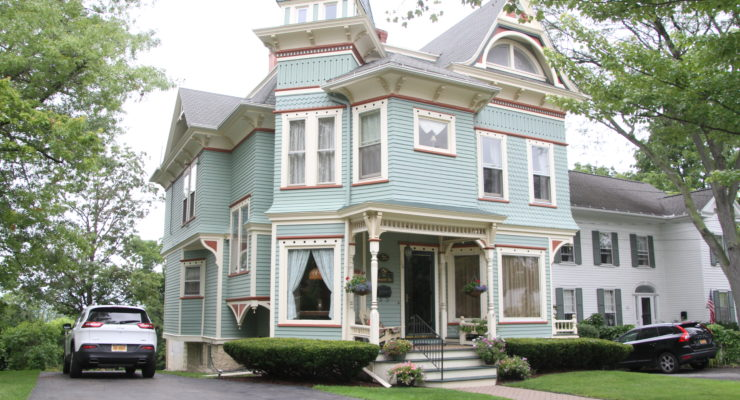 New Paint Means Fresh Face for Geneseo's Historic Annabel Lee Bed and Breakfast