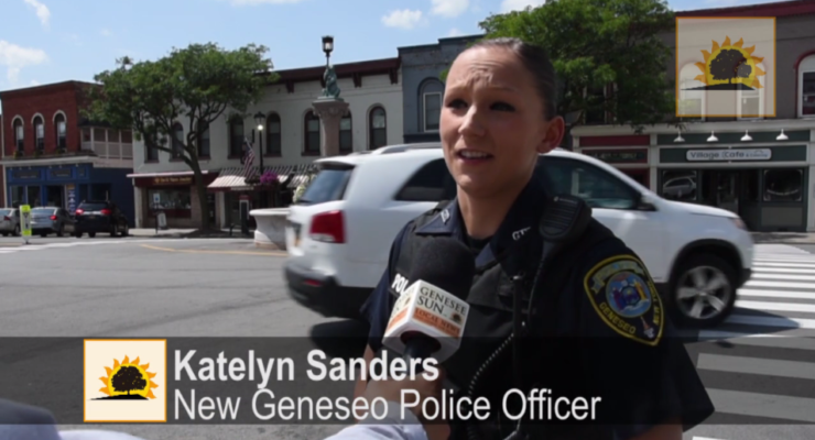 SUN VIDEO: Officer Katelyn Sanders Joins Geneseo Police Department