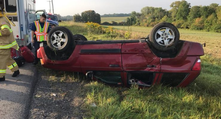 Cops Arrest Driver in Livonia Rollover