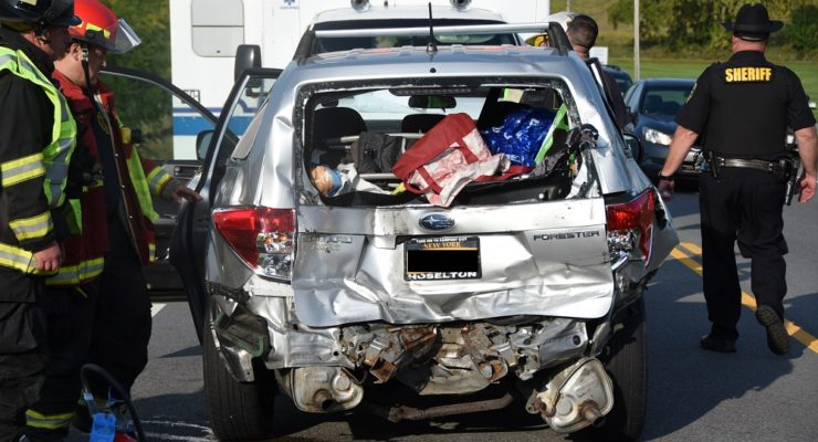State Homeland Security Vehicle Rear-Ends SUV in Geneseo