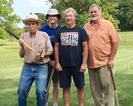 Waddy and Castignetti Conquer Croquet Field in Geneseo