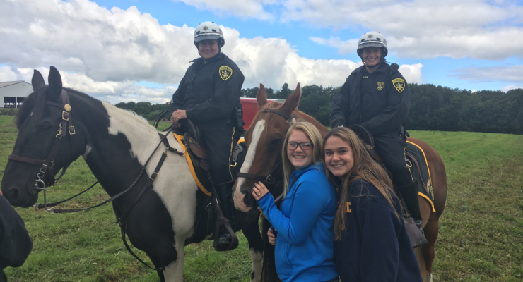 Sheriffs Office Saddles-Up for Farm Fest at Dairy Knoll Farms