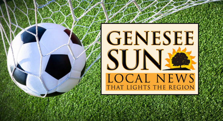 BOYS SOCCER SECTIONALS: Kaye Scores 2 Goals as Geneseo Advances