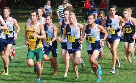 SUNY Geneseo Cross Country Sweeps Season Opener