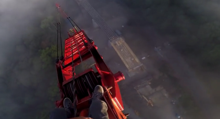 WATCH: Internet Loves, Hates Daredevil's Video from Letchworth Bridge Project