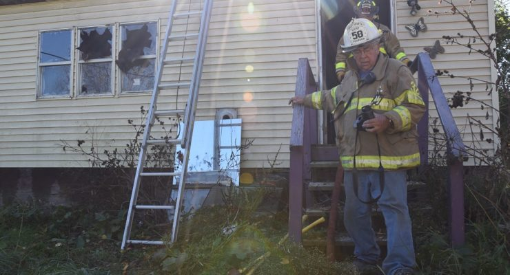 Foreclosed House Burns in West Sparta