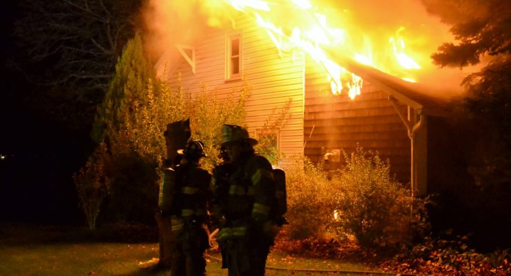 Livonia Firefighters Save House