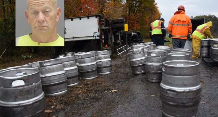 Cops: Beer Truck Driver was High on Two Drugs and Had Heroin