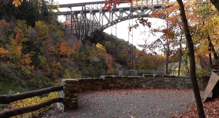 Letchworth Fixes and Reopens Upper Falls Trail