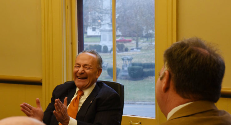 Avon and County Enjoy Round-Table with Sen. Schumer