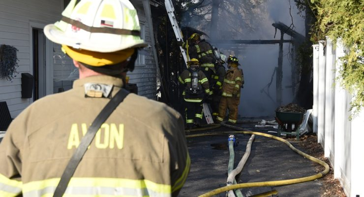Avon School Locks Down as Firefighters Save 2 Homes from Flames
