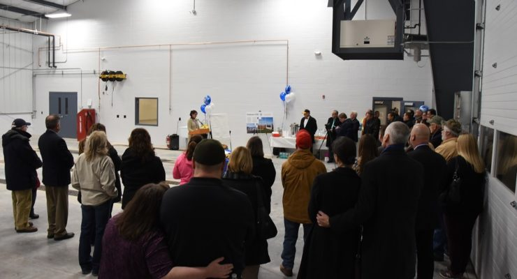 Geneseo Cuts Ribbon on New Bus Garage