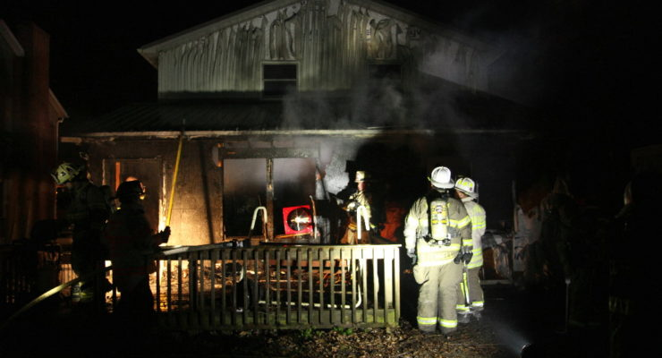 Extension Cord Lit Conesus House Fire