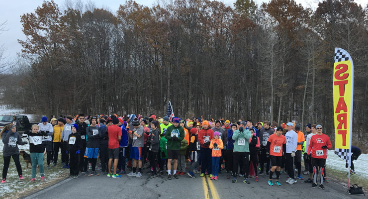 8th Annual Livonia Turkey Trot Gobbles-up Local Runners