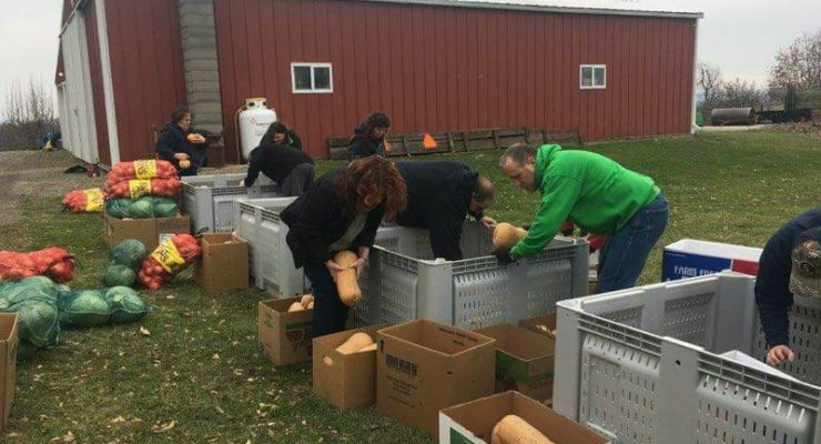 Livingston County Farmers Suddenly Pool Huge Charity Donation
