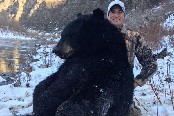 Hunter Tags 'Once in a Lifetime' Letchworth Park Bear