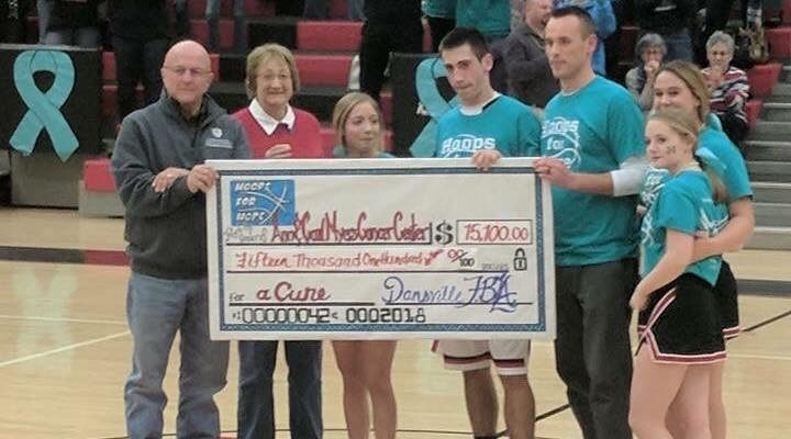Dansville VS Hornell Boys Basketball Game 'Hoops for Hope' Benefit Delivers for Rosica