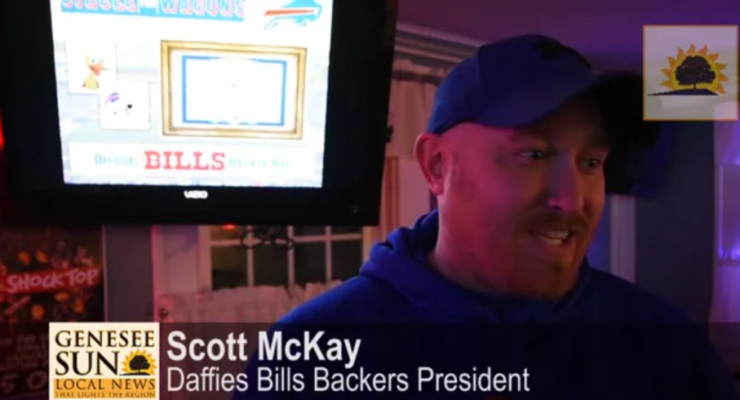 SUN VIDEO: Bills Fans to Pack Daffies for Sunday Playoffs