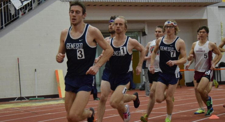 SUNY Geneseo Women Win Track and Field SPIRE Invite