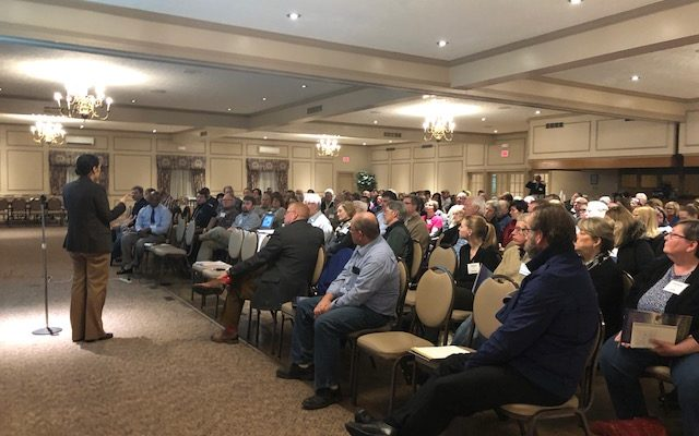 Consultant Presents Livingston County Downtown Study to Packed Room