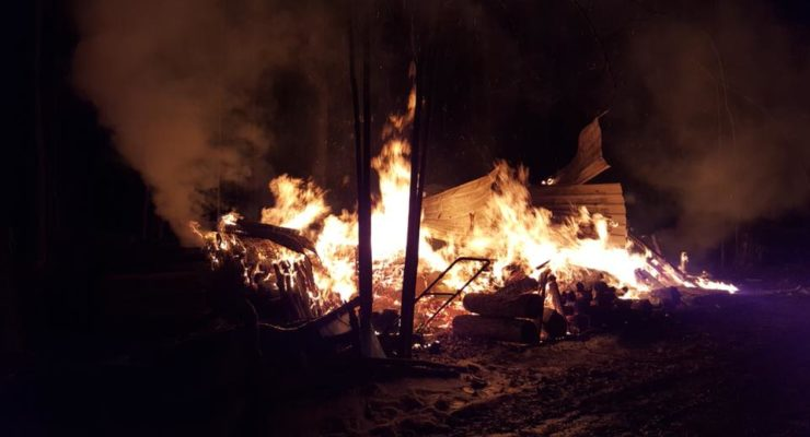 Towering Super Bowl Fire Ruined West Sparta Sugar Shack
