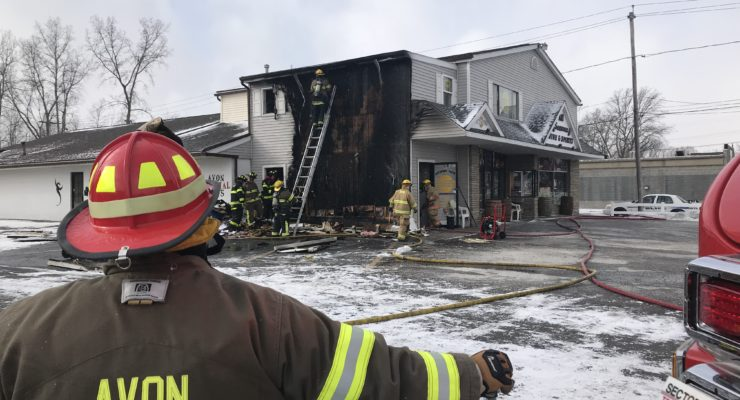 Fire Breaks Out at Crazy Joe's Tattooing in Avon