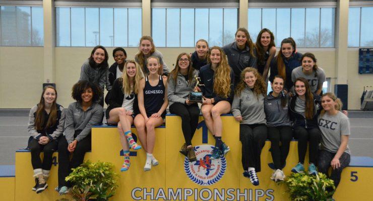 SUNY Geneseo Track and Field: Women Win Regional Meet, Men Take Second