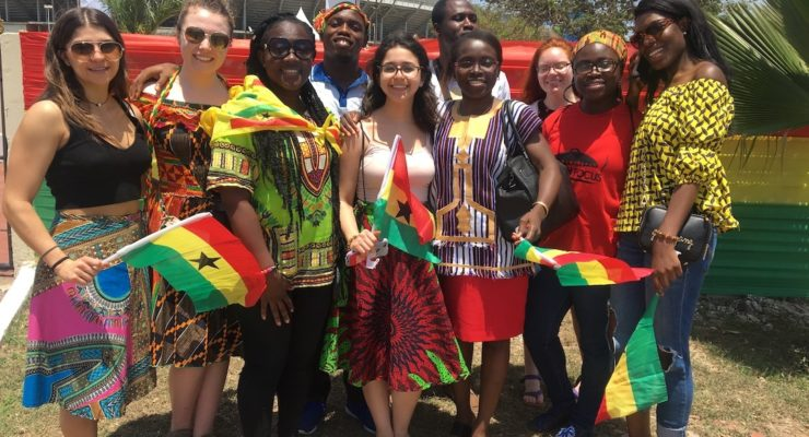 Nunda Dietetics Major Spends Spring Break Making a Difference in Ghana