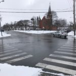 DOT Grants SUNY Geneseo Student's Wish for Four-Way Stop