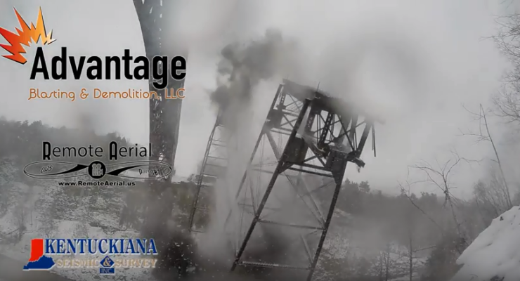 WATCH: Demo Team Posts Videos of Blasting Letchworth Trestle