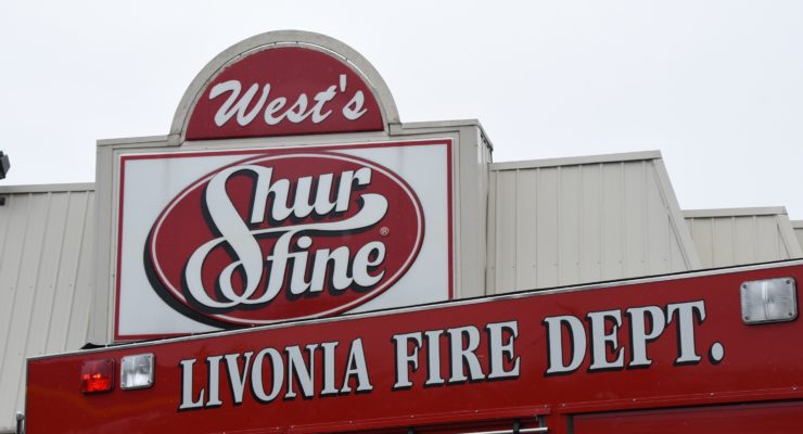 Explosion Evacuates West's Shurfine in Livonia
