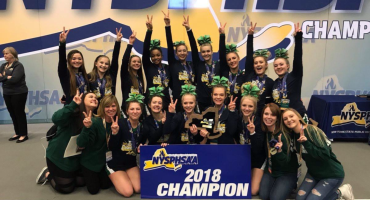 Avon Braves Earn Third Straight State Cheer Title