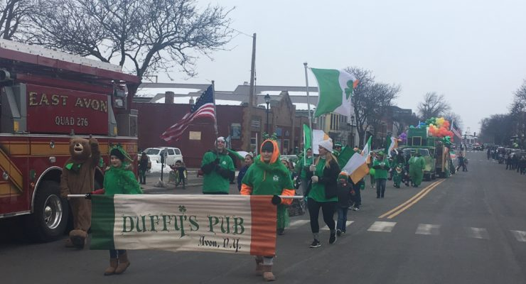 Lifting Up Livingston Brings Another St. Patty's Parade to Geneseo