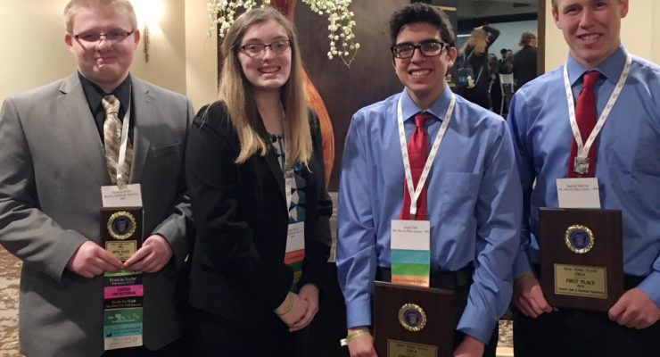 Local Students Shine at FBLA State Leadership Conference