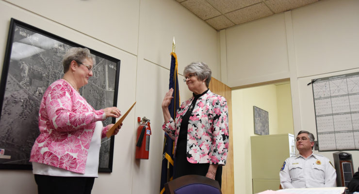 Duff Sworn in as Geneseo Mayor and Trustee Cook Appointed Deputy Mayor