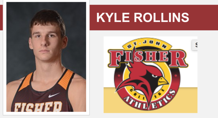Rollins Putting on a Show for St. John Fisher Track and Field