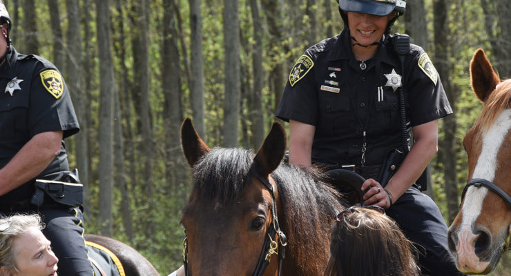 """SUN VIDEO: Special Day for Sheriff's Office as """"Sackett"""" Re-joins the Ranks"""