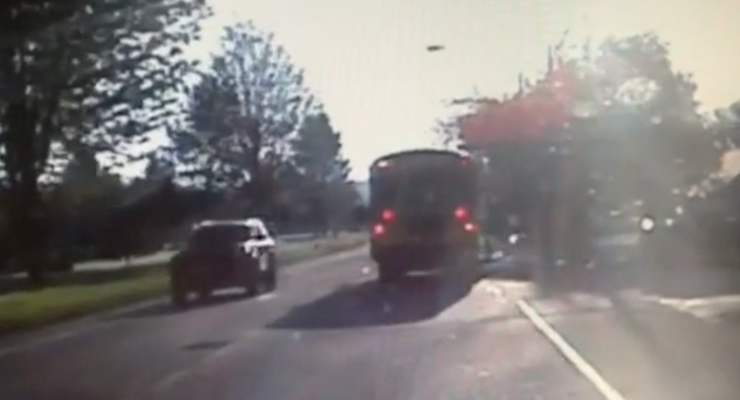 SUN VIDEO: Police Chief Warns of Caution Near School Buses After Driver Ticketed
