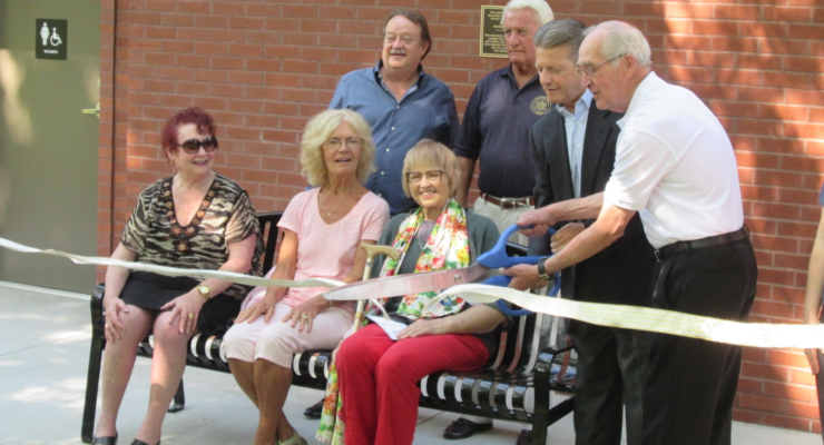 Community Celebrates New Park Bathrooms with 'Toilet Paper Cutting' Ceremony