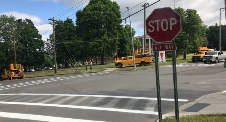 Be Alert: New Geneseo Main Street Stop Sign Now Active
