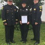 Liv. Co. Deputy Receives Local and State American Legion Correction Officer Award