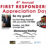 Genesee Valley Motors Presents 4th Annual First Responders' Appreciation Day at Frontier Field