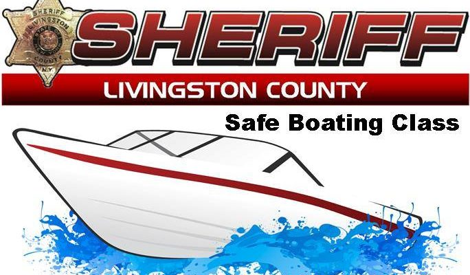 Liv. Co. Sheriff's Department Offers Safe Boaters Course
