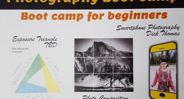 Genesee Valley Photography Society Offers Photo Boot Camp