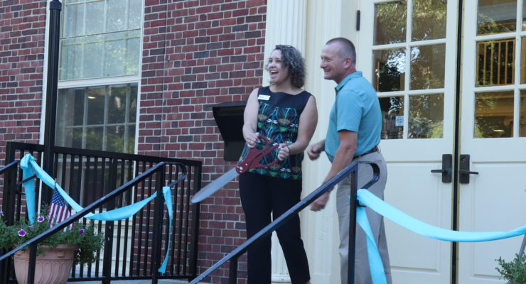 Avon Free Library Holds Ribbon Cutting Ceremony to Celebrate Renovations