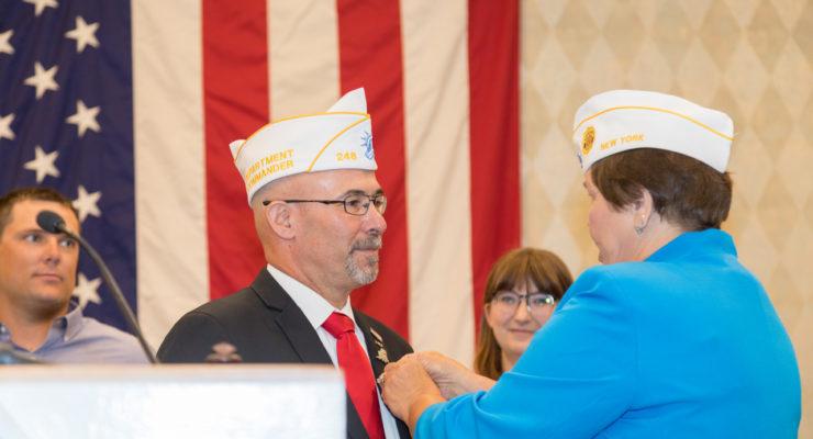 First Iraq War Veteran Sworn In as 100th Commander of American Legion Department of New York