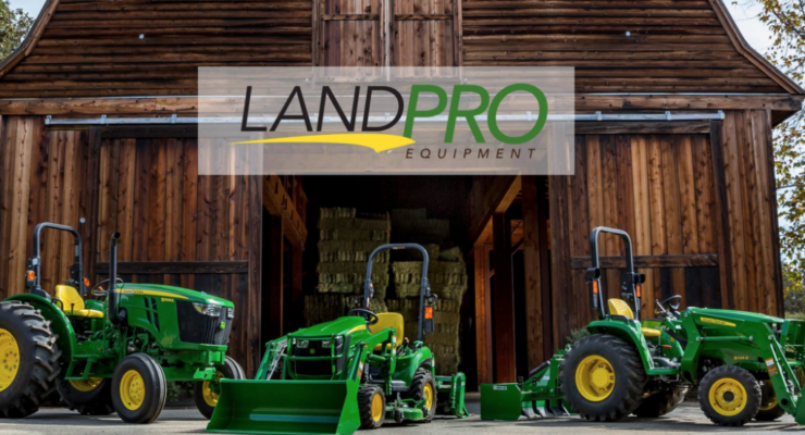 LandPro Continues to Grow, Adds 14th John Deere Dealership