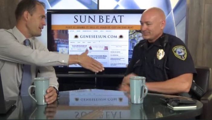SUNDAY CUP OF COFFEE: Geneseo Police Chief Eric Osganian