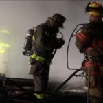 VIDEO: Fire Fighters Battle Early Morning Barn Blaze